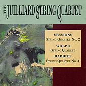 String Quartets: Sessions, Wolpe, Babbitt by Various Artists