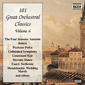 101 GREAT ORCHESTRAL CLASSICS, Vol.  6 by Various Artists