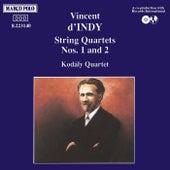 INDY: String Quartets Nos. 1 and 2 by Kodaly Quartet