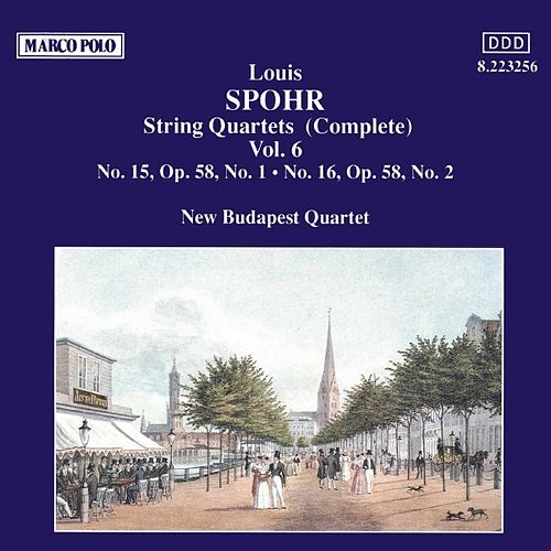 SPOHR: String Quartets Nos. 15 and 16 by New Budapest Quartet