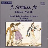 STRAUSS II, J.: Edition - Vol.  40 by Various Artists