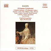 HAYDN: 15 Famous Symphonies by Capella Istropolitana
