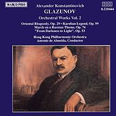 GLAZUNOV: Orchestral Works, Vol.  2 by Hong Kong Philharmonic Orchestra