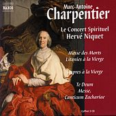 CHARPENTIER 3 CD Box (France only) by Le Concert Spirituel