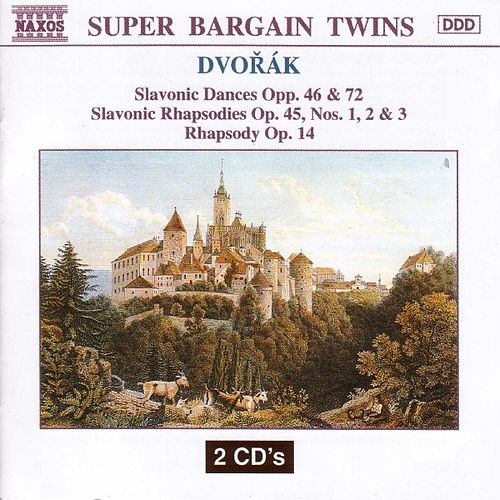 DVORAK : Slavonic Dances & Rhapsodies by Slovak Philharmonic Orchestra