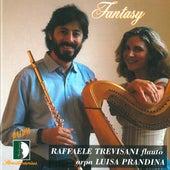 Rota, Lauber, Damase, Harty, Shaposchnikov: Fantasy, works for flute and harp by Luisa Prandina