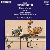 HINDEMITH: Piano Works, Vol.  4 by Hans Petermandl