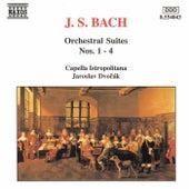 Orchestral Suites Nos. 1 - 4 by Johann Sebastian Bach