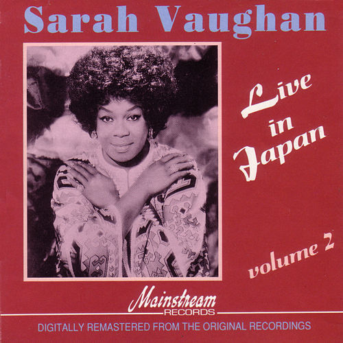 Live In Japan Vol 2 by Sarah Vaughan
