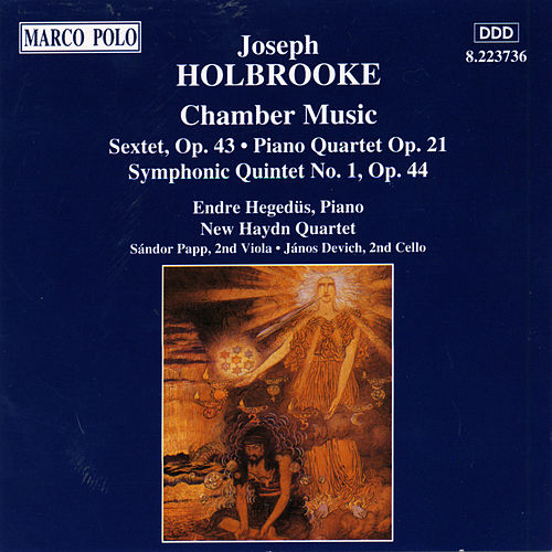 HOLBROOKE: Chamber Music by New Haydn Quartet