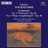 TOURNEMIRE: Symphonies Nos. 2 and 4 by Moscow Symphony Orchestra