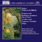 VILLA-LOBOS: Pequena Suite / Bachianas brasileiras Nos. 2, 5 and 6 by Rebecca Rust
