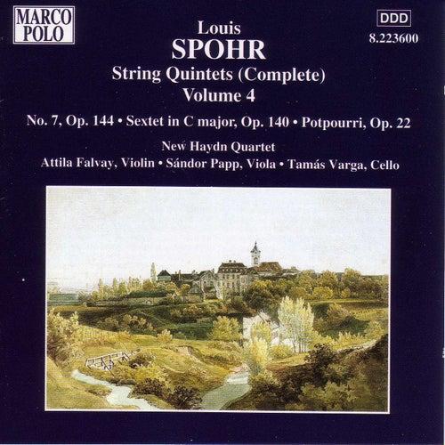 SPOHR: String Quintet No. 7 / String Sextet Op. 140 / Potpourri by New Haydn Quartet
