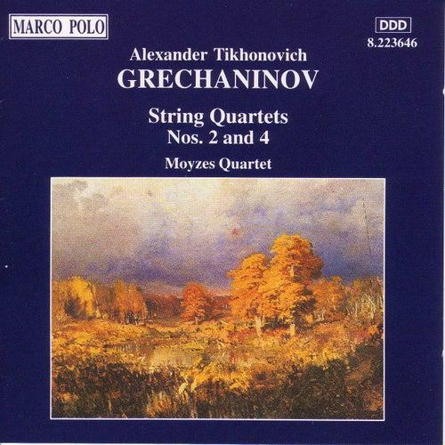 GRECHANINOV: String Quartets Nos. 2 and 4 by Moyzes Quartet