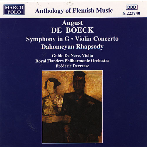 BOECK: Symphony in G Major / Violin Concerto by Various Artists