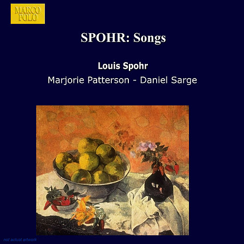 SPOHR: Songs by Marjorie Patterson