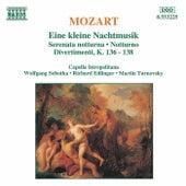 MOZART: Eine Kleine Nachtmusik / Serenata Notturna / Divertimenti by Capella Istropolitana