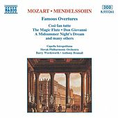 MOZART / MENDELSSOHN: Famous Overtures by Various Artists