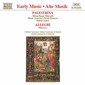 PALESTRINA: Missa Papae Marcelli / ALLEGRI: Miserere by Oxford Camerata