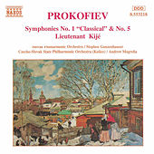 PROKOFIEV: Symphonies Nos. 1 and 5 by Slovak Philharmonic Orchestra