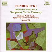 Orchestral Works Vol. 1 by Krzysztof Penderecki