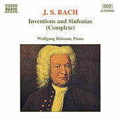 Inventions and Sinfonias (1995) by Johann Sebastian Bach