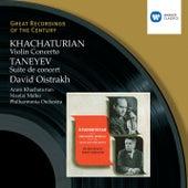 Khachaturian: Violin Concerto, Taneyev: Suite de concert by Philharmonia Orchestra