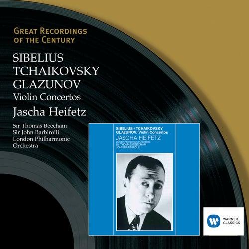 Sibelius, Tchaikovsky, Glazunov: Violin Concertos by London Philharmonic Orchestra