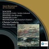 Wagner, Brahms, Beethoven, Mahler: Wesendonck-Lieder etc. by Philharmonia Orchestra