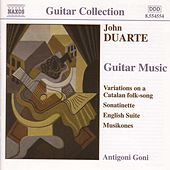 Guitar Music by John Duarte