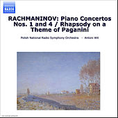 Piano Concertos Nos. 1 and 4 by Sergei Rachmaninov