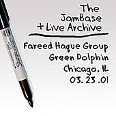 03-23-01 - Green Dolphin - Chicago, IL by Fareed Haque Group