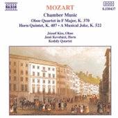 MOZART: Oboe Quartet, K. 370 / Horn Quintet, K. 407 / A Musical Joke by Kodaly Quartet