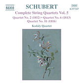 SCHUBERT: String Quartets Nos. 2, 6 and 11 by Kodaly Quartet