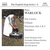 WARLOCK: The Curlew / Lillygay / Peterisms / Saudades by Various Artists