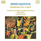 SHOSTAKOVICH: Symphonies Nos. 5 and 9 by Slovak Radio Symphony Orchestra