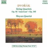 DVORAK: String Quartets Op. 96, 'American' and Op. 105 by Moyzes Quartet