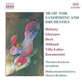 Music for Saxophone and Orchestra by Theodore Kerkezos