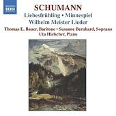 SCHUMANN: 12 Gedichte aus 'Liebesfruhling', Op. 37 / Minnespiel, Op. 101 by Susanne Bernhard