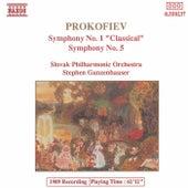PROKOFIEV: Symphony No. 1, 'Classical' / Symphony  No. 5 by Slovak Philharmonic Orchestra