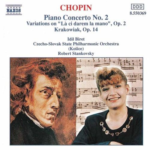 CHOPIN: Piano Concerto No. 2 / Krakowiak by Idil Biret