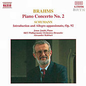 BRAHMS: Piano Concerto No. 2 / SCHUMANN: Introduction and Allegro, Op. 92 by Jeno Jando