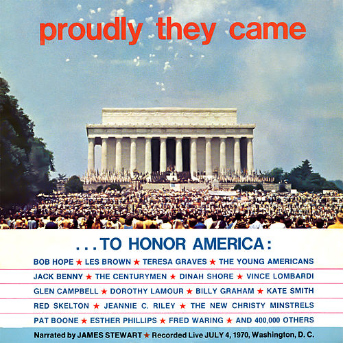 Proudly They Came to Honor America - Live 1970 by Various Artists