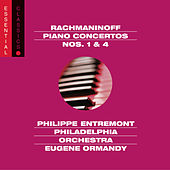 Rachmaninoff: Piano Concertos Nos. 1 & 4; Rhapsody on a Theme of Paganini by Eugene Ormandy