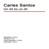 Un Dit És un Dit - Single by Carles Santos