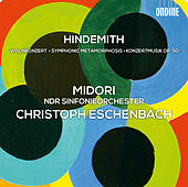 Hindemith: Violinkonzert - Symphonic Metamorphosis - Konzertmusik, Op. 50 by Christoph Eschenbach