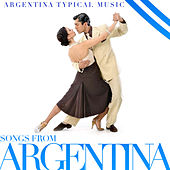 Songs from Argentina. Argentina Typical Music by Carlos Gardel