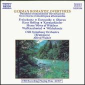German Romantic Overtures by Various Artists