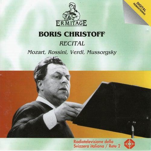 Boris Christoff Recital by Boris Christoff