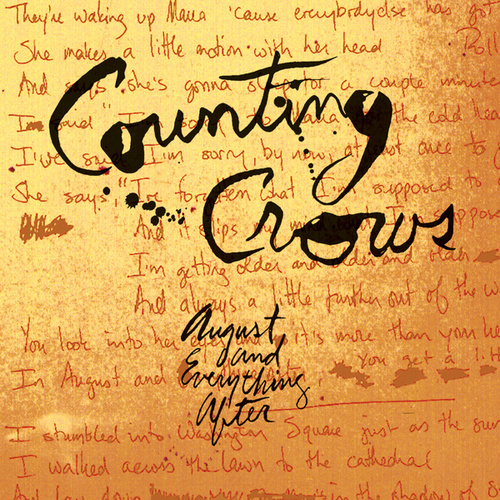 August And Everything After by Counting Crows